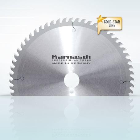 Hartmetall-bestücktes Kreissägeblatt Handkreissägen + Lamello 255x3,0/2,0x30mm 80 WZ