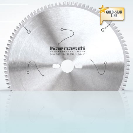 Hartmetall-bestücktes Kreissägeblatt, Aluminium + Kunststoffe Universal 250x3,2/2,5x30mm 80 TFN - N