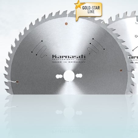 Hartmetall-bestücktes Kreissägeblatt Formatieren - Hohlzahn 303x3,2/2,2x30mm 40 HDF-P - NL:UNI