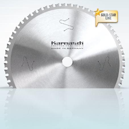 Hartmetall-bestücktes Kreissägeblatt, Dry-Cutter Edelstahl 210x2,0/1,6x30mm 54 WWF - NL: UNI1
