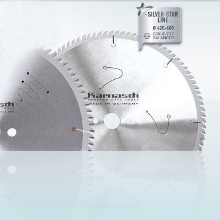 Hartmetall-bestücktes Kreissägeblatt, Aluminium, Kunststoffe, Fensterprofile - POSITIV - 600x4,6/4,