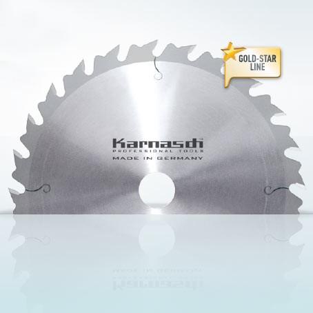 Hartmetall-bestücktes Kreissägeblatt, Zuschnitt Kreissägeblatt - Wechselzahn mit Abweiser 500x4,4/