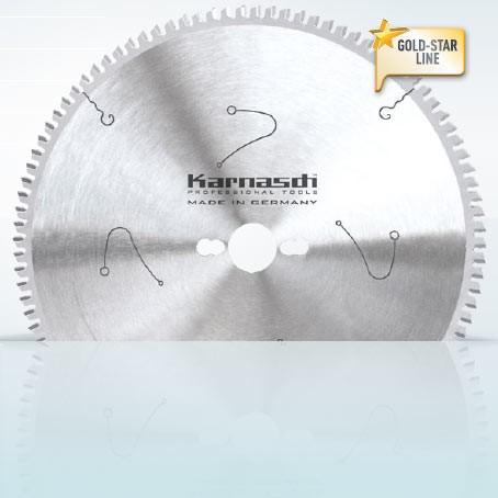 Hartmetall-bestücktes Kreissägeblatt, Aluminium + Kunststoffe Universal 300x3,2/2,5x30mm 72 TFN - N