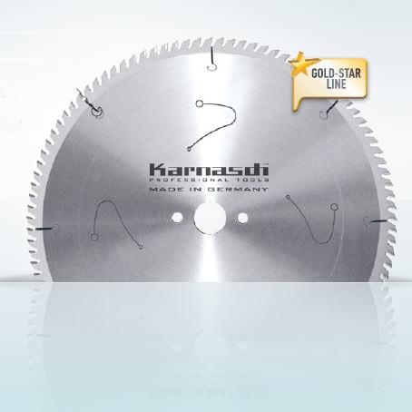 Hartmetall-bestücktes Kreissägeblatt Harte Kunststoffe- Abrasive Werkst.- Fertigschnitt 400x3,5/2,