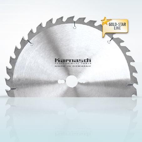 Hartmetall-bestücktes Kreissägeblatt, Zuschnitt Sägeblatt - Wechselzahn 300x3,2/2,2x30mm 24 WZ - NL