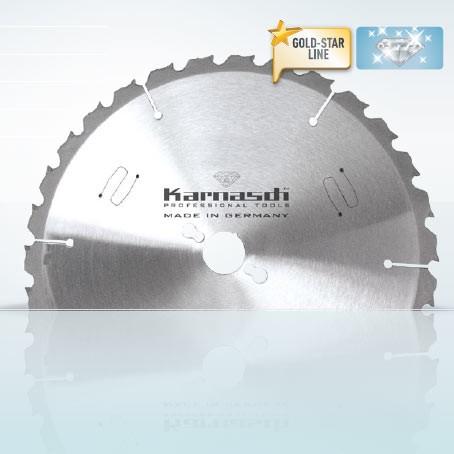 Hartmetall-bestücktes Kreissägeblatt, Vogesenblitz Trommelsäge SAT 4-700 700x6,0/4,5x30mm 42 FLA zz