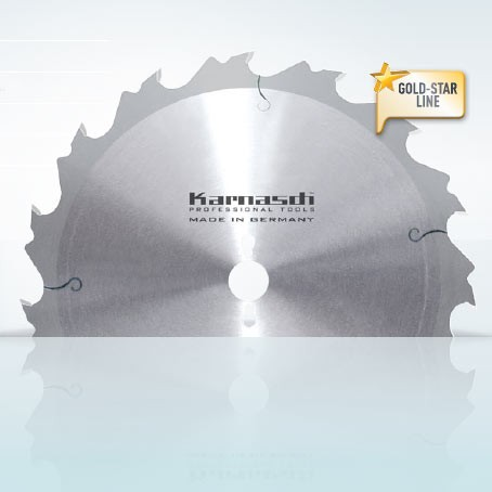 Hartmetall-bestücktes Kreissägeblatt, Zuschnitt Sägeblatt - Tiefschnitt 300x3,8/2,2x30mm 18 WZA - N